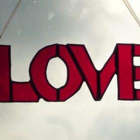 Glass typography