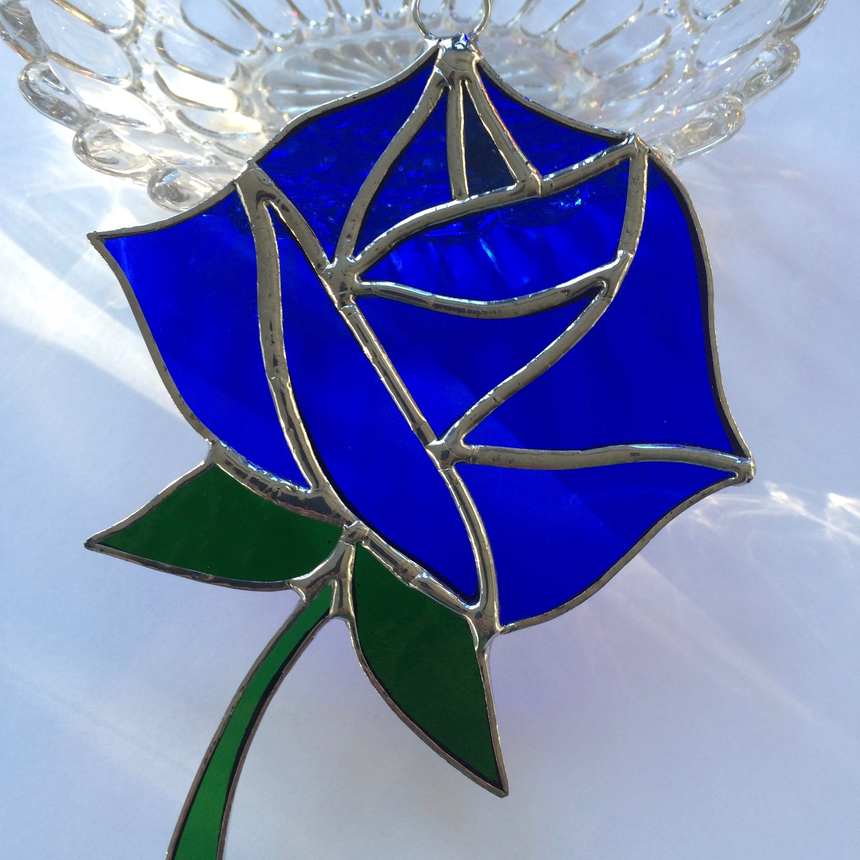 Everlasting rose blue glassworks everlasting rose blue izmirmasajfo